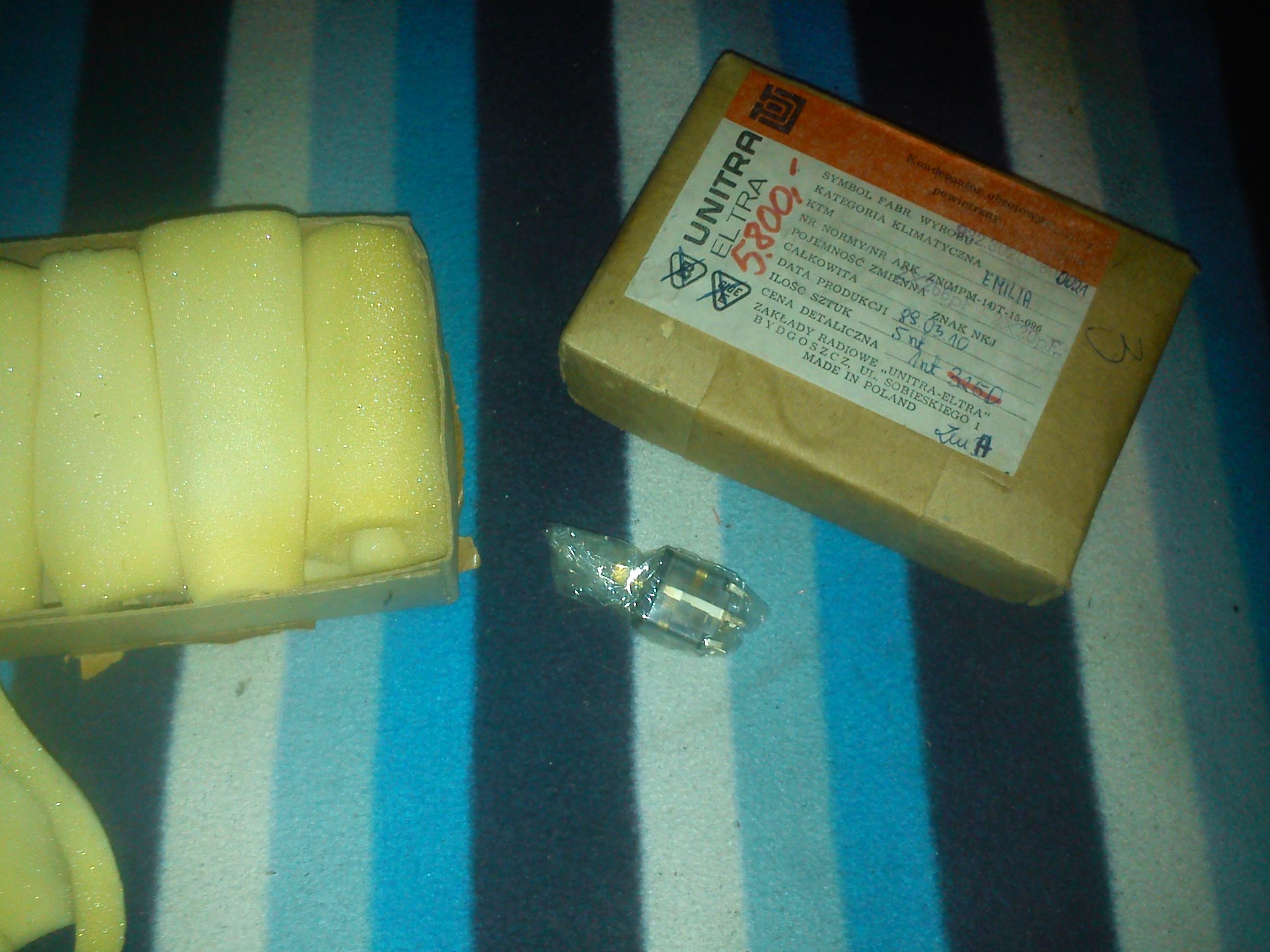 [Sprzedam]Nowa g�owica UKF Beata z kondensatorem 380/320+2x14,7 pF