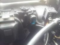 BMW E38 740i - schemat wtyczki oraz lampy przedniej xenon OEM BMW