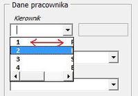 Excel- Jak utworzyć listę pracowników w ComboBox