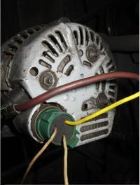 k�opot z pod��czeniem alternatora (toyota) C-330