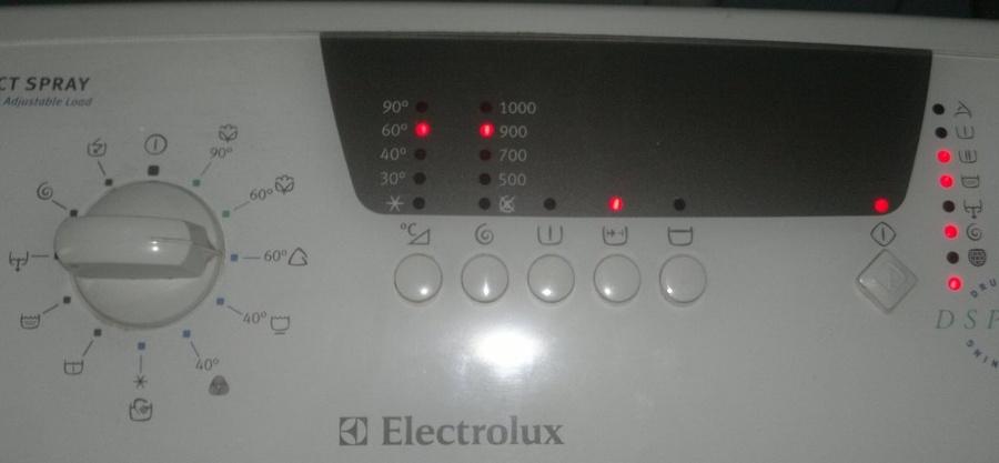 Electrolux  EWT 1050 - Zatrzymuje si� w r�nych momentach