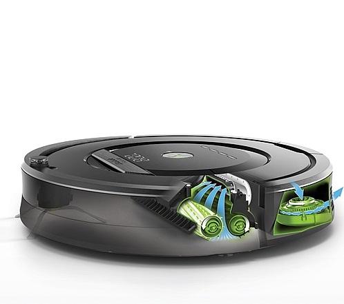 iRobot Roomba 880 - odkurzacz-robot bez efektu nawijaj�cych si� w�os�w i sier�ci