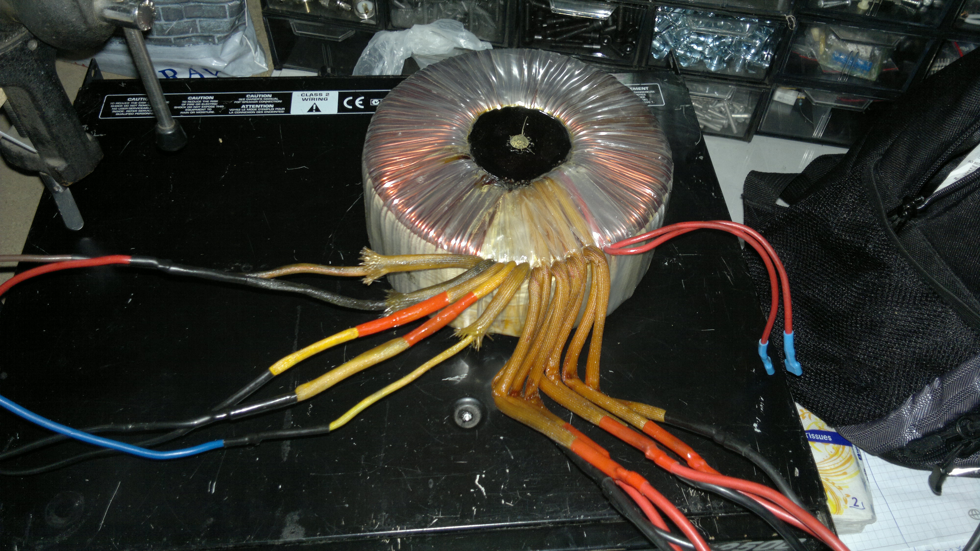 Transformator z UPSa Fideltronic