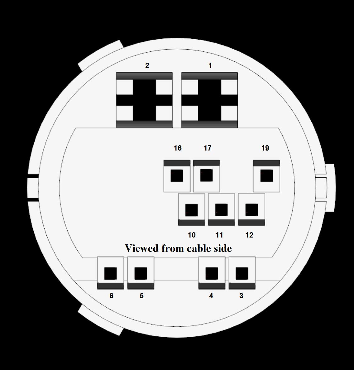 Wiring Diagram Zafira Central Locking : Opis wtyczki tylnych drzwi zafira a dti rok
