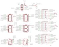 Amega - SCT2024 i 6 wy�wietlaczy LED dwukolorowych