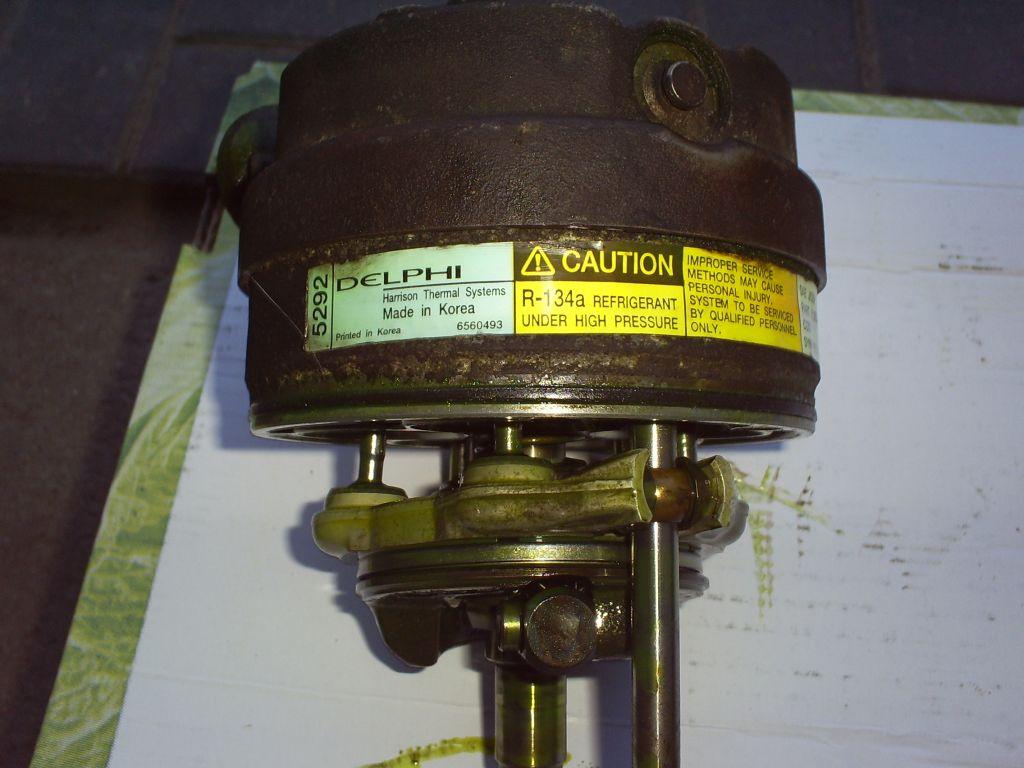 Opel Vectra B - nieszczelny kompresor klimatyzacji.