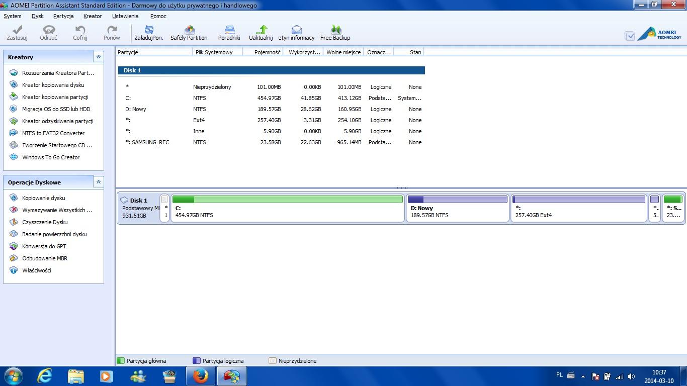 Odzyskanie danych po instalacji ubuntu