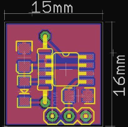 Kompaktowa ładowarka akumulatorów litowych zasilana z USB