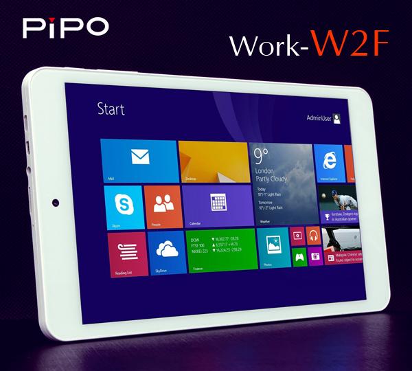 """Pipo Work W2F - 8"""" tablet z 4-rdzeniowym Atom i Windows 8.1 za 369z�"""