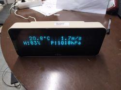Stacja pogodowa. Wyświetlacz VFD + ESP8266 strona www - po raz kolejny