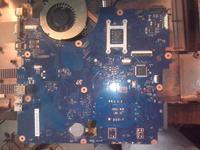 SAMSUNG RV510 - nie włącza się, grzeje się jakiś układ