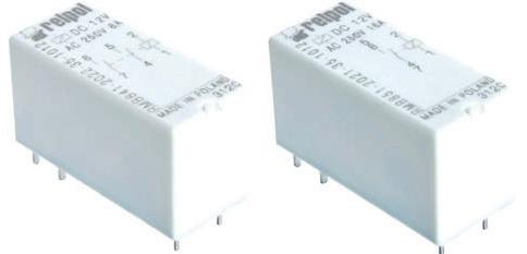 Relpol - RMB841, RMB851 przeka�niki bistabilne [2x8A, 16A]