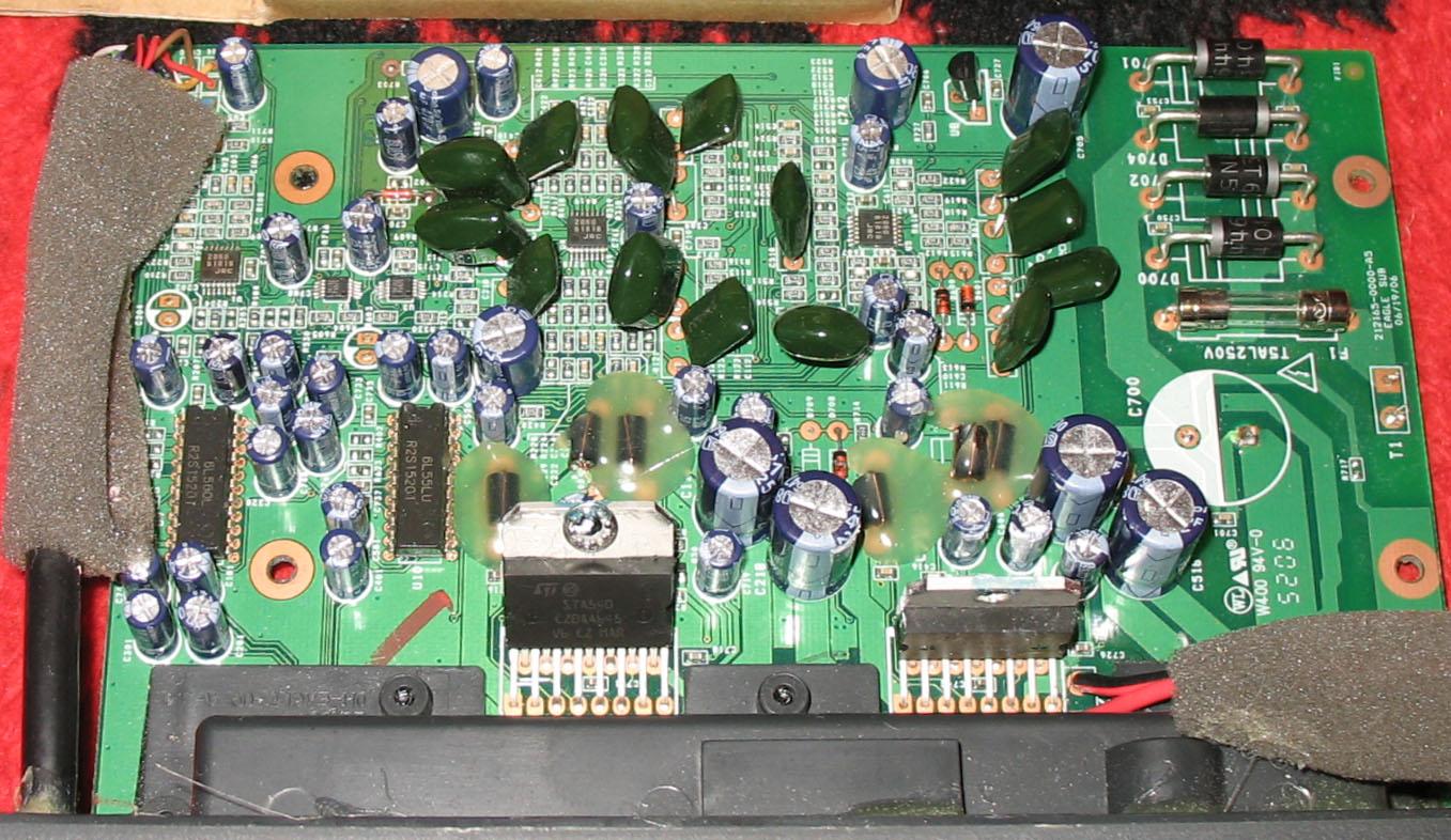 Logitech X 540 Circuit Diagram Wiring Sierramichelsslettvet X540 Jakie Kondensatory Smd Elektroda Pl Clic Here For Electric Schematic