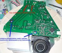 Płyta indukcyjna Teka GKST 60I4B - nie działa jedno pole