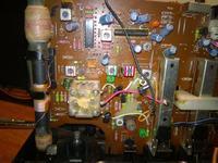 SANYO MW-170 LO - Wymiana pasków magnetofonu, strojenie radia.