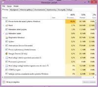 Windows 8 proces hosta dla zada� systemu windows 40% CPU  taskhost