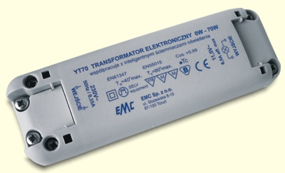 EMC YT70 - Transformator EMC YT70 dla Led
