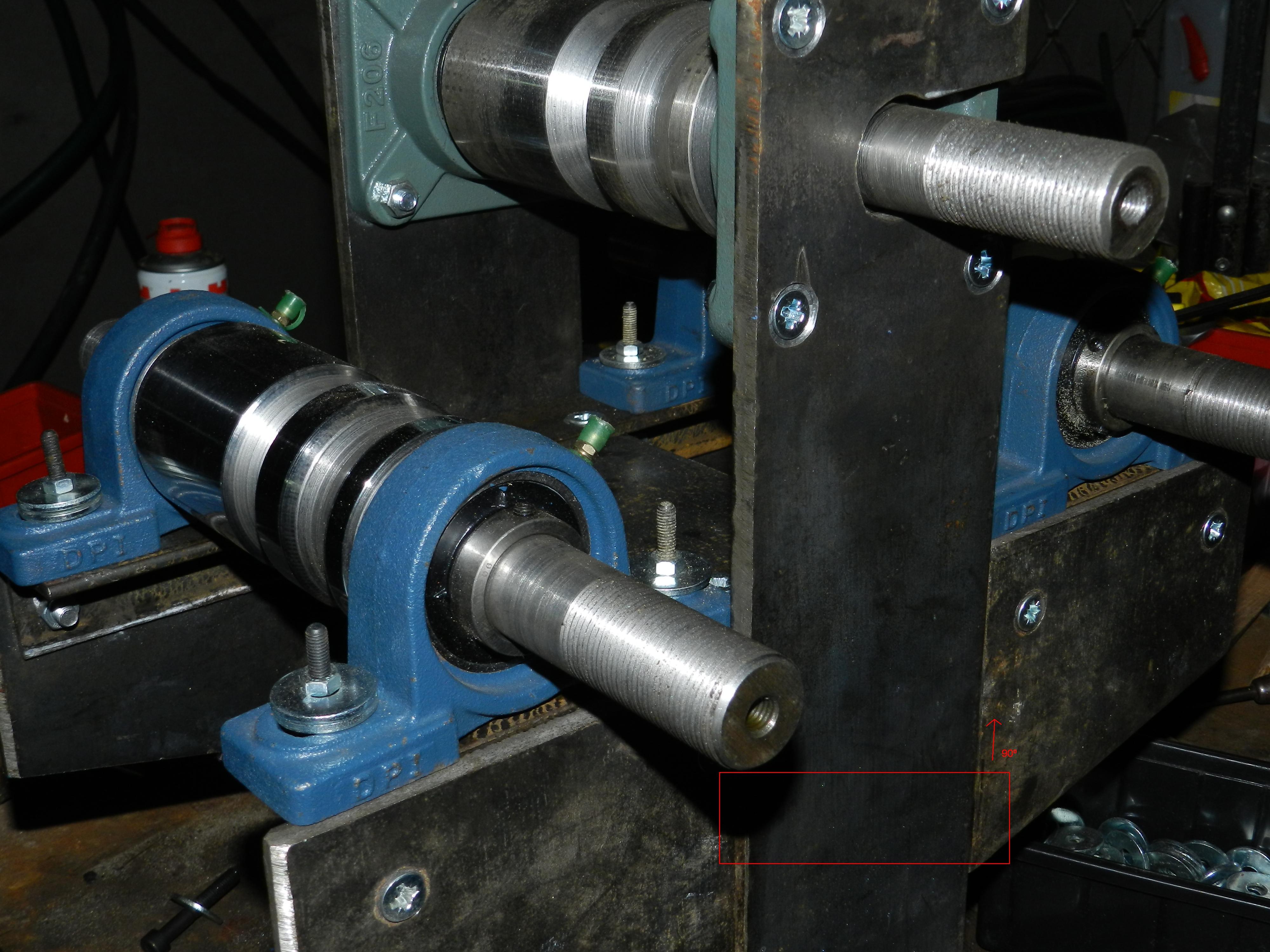 Groovy Walcarka metali (płaskowników, profili, rur) - elektroda.pl JN36