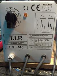 T.I.P. ES-140 - Spawarka bardzo szybko si� przegrzewa