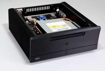 ASKTech NT-ZENO3 - niskoprofilowa obudowa Mini-ITX z pasywnym ch�odzeniem