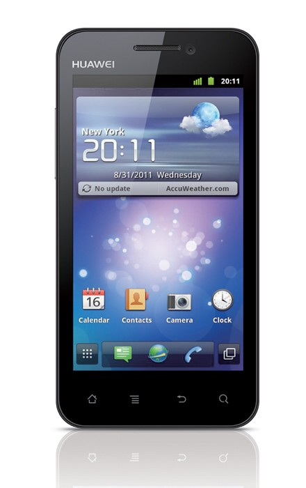 "Huawei Honor - smartfon z ekranem 4"", procesorem 1,4 GHz i modemem HSPA+"