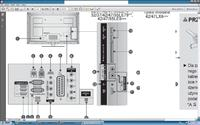 42LG /LE5500 - Podlaczenie do komputera PC -TV LCD