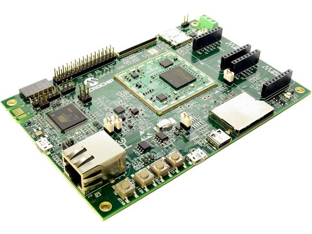 Zestawy uruchomieniowe ATSAMA5D27-SOM1EK1 Microchip Technology
