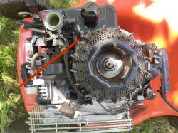 Briggs & Stratton 450 - naprawa silnika kosiarki
