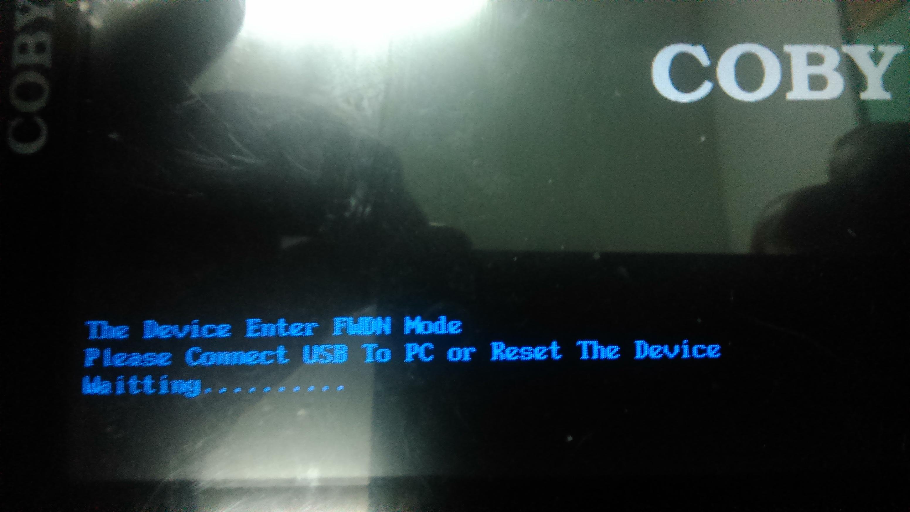 Coby mid 7022 - wgranie od nowa android 2.3 aktualizacja do 4.0
