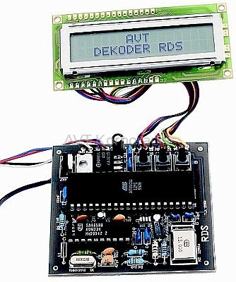 SONASHI JAPAN ZX 50 - jak pod��czy� do niego dekoder RDS kit AVT