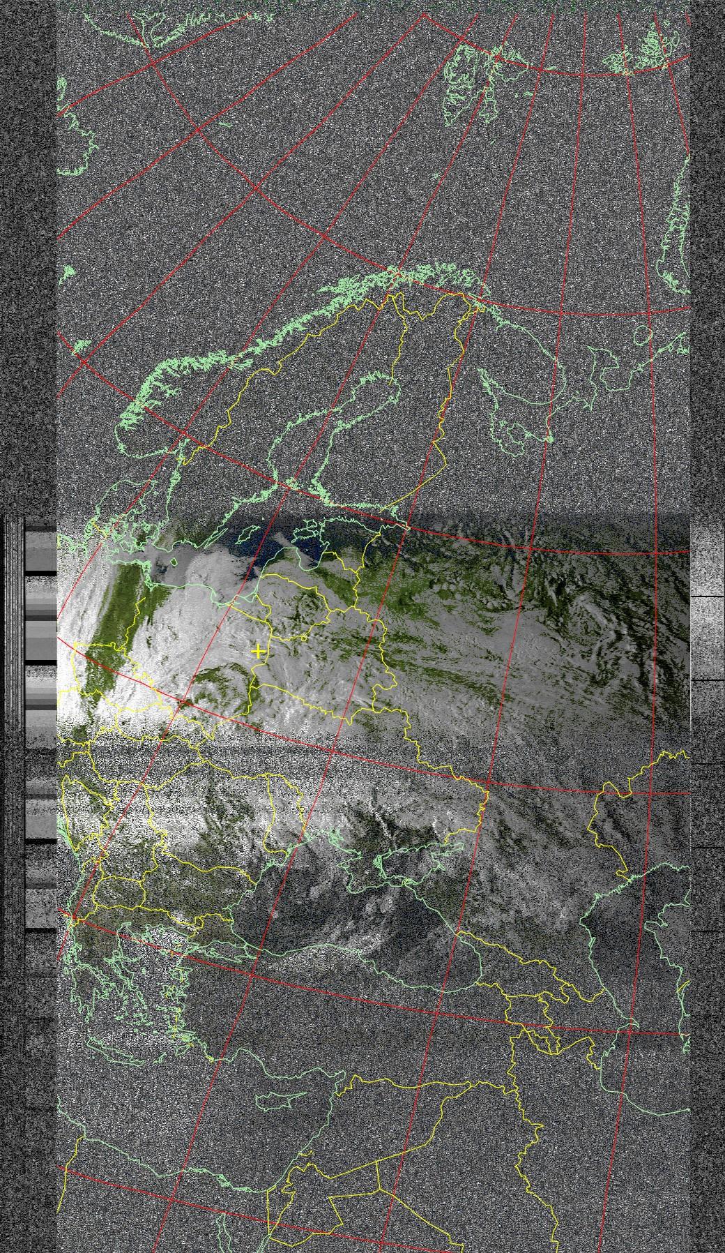 Uniden Ubc60xlt-1 - Mapy pogodowe NOAA