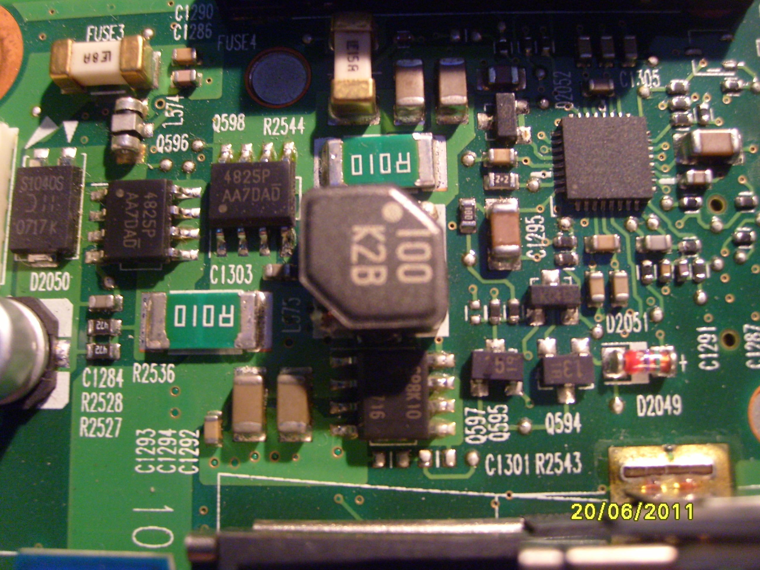 Toshiba Satellite A215-S7437 nie dzia�a bez baterii