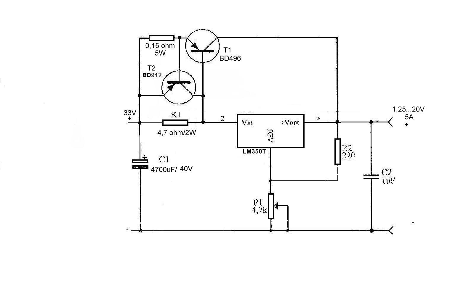 Elektroniczny Bezpiecznik LM350