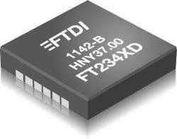 FT234XD - miniaturowy konwerter USB-UART o poborze prądu 8 mA