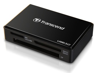 """Czytnik kart pami�ci Transcend RDF8 USB 3.0 typu """"wszystko-w-jednym"""""""