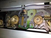 Panasonic NV-F70HQ - widzi kasetę której nie ma