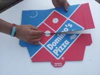 Samolot z pudełka po pizzy