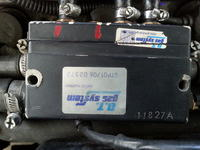 Pali na trzy cylindry na lpg D.T. Gas System - Gas Tech 500S