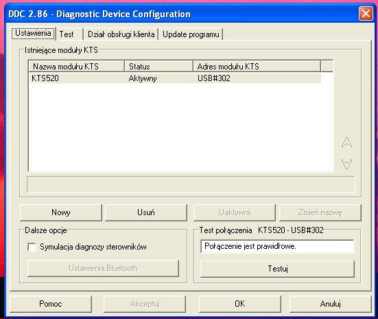 KTS 540 i Esi tronic2008. Po klikni�ciu esi tronic na KTS nic si� nie dzieje.