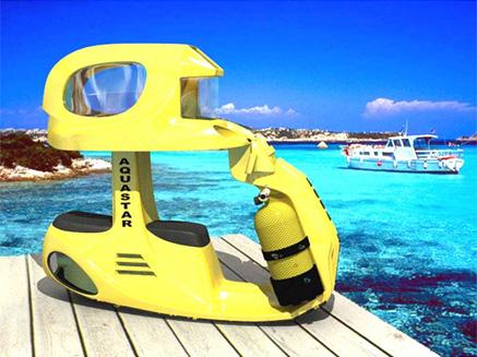 Podwodny skuter Aqua Star AS-2 zabierze Cię na podwodną przygodę