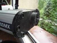 FLASH FLZ-1500DMX - tuż po włączeniu uruchamia pompkę