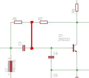 Układ Saa1057 i kwarc 4MHz - pomiar na oscyloskopie.