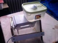 Wytrawiarka wibracyjna z silnikiem od hdd