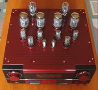 Wzmacniacz lampowy DIY w trybie triody.