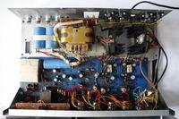 Wzmaczniacz Unitra PA-1801 przydźwięk sieciowy