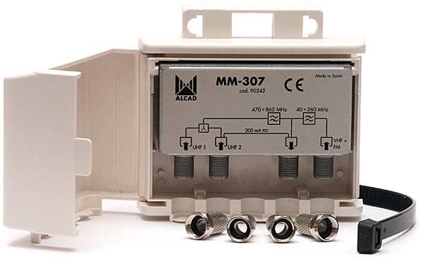 Zwrotnica Alcad MM-407 i MM-307