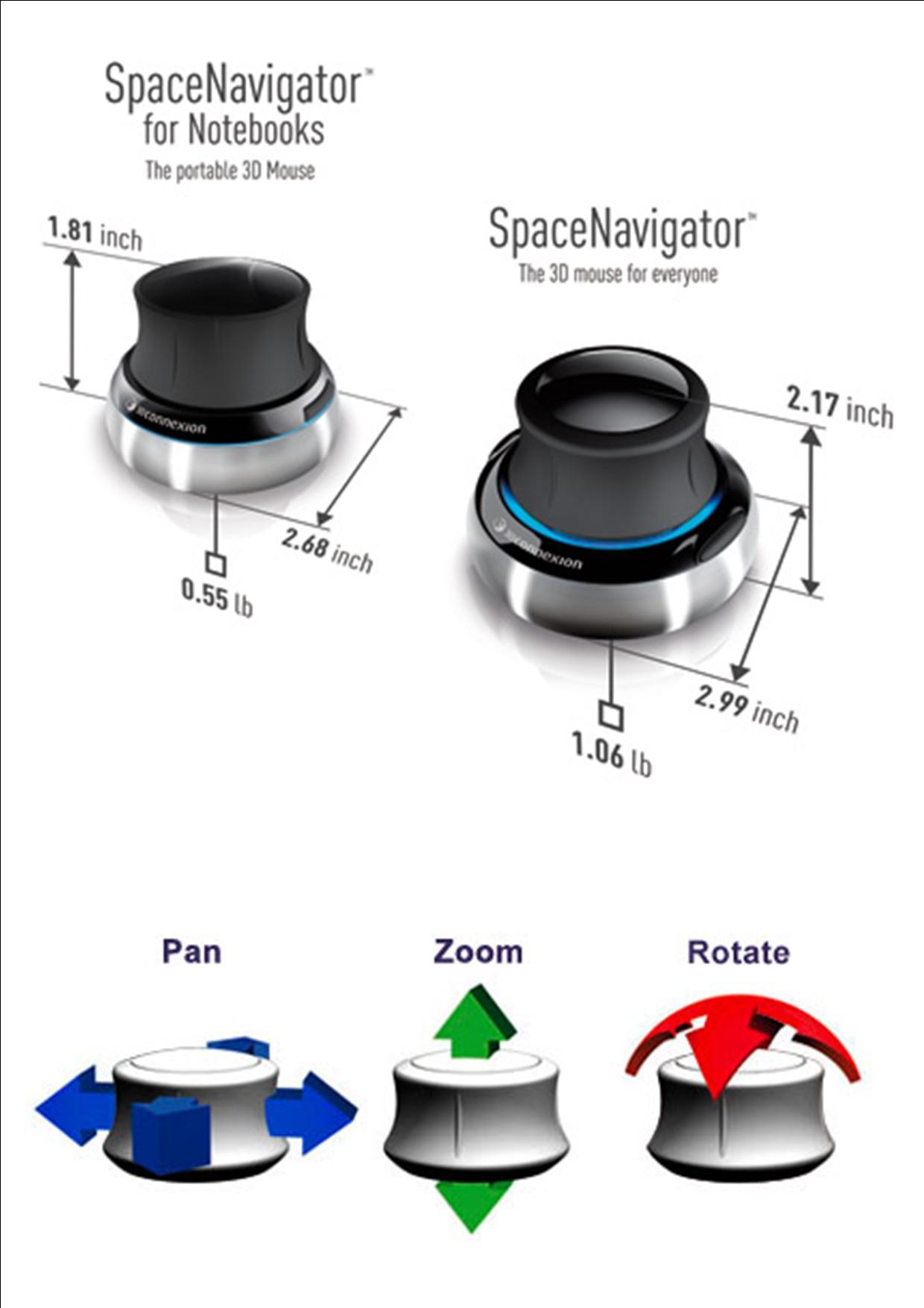 [Sprzedam] Sprzedam Manipulator SpaceNavigator, Pilot 3D Connexion