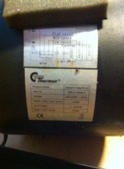 Regulator obrotów wentylatora 230V, podlaczenie do silnika