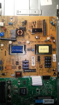 Sharp LC-32LD145V - Brak podświetlenia
