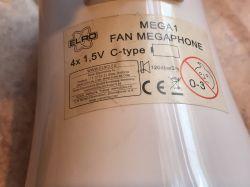 Megafon MEGA1 Fan Megaphone ELRO Roos Electronics [wnętrze]